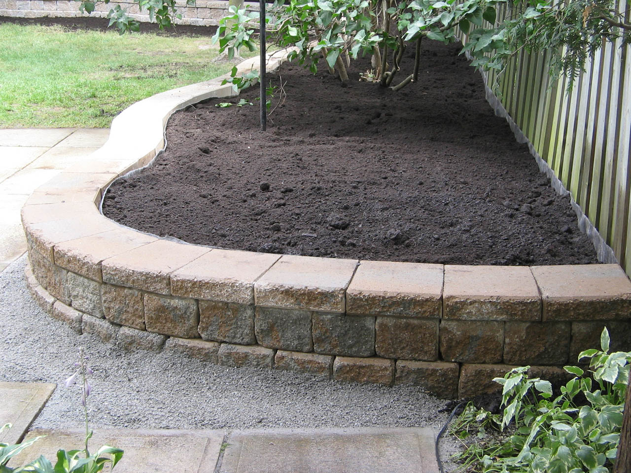 Retaining Wall Blocks Home Depot - Willing Landscape: Landscaping Ideas Backyard Chickens Forum